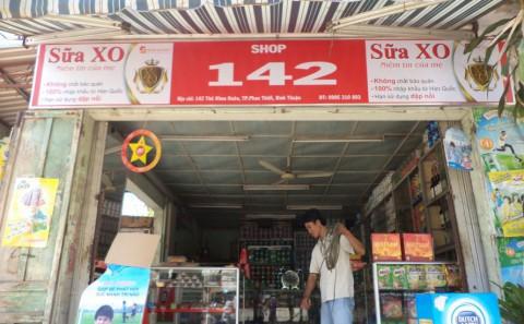 Làm Bảng Hiệu Quảng Cáo Cho Nhãn Hàng Sữa XO Tại Các Shops, Cửa Hàng, Tạp Hóa, Bách Hóa