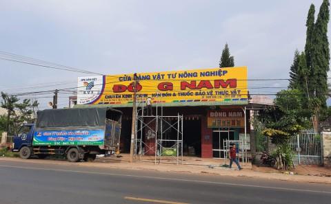 Bảng Hiệu Quảng Cáo Cửa Hàng Vật Tư Nông Nghiệp Đông Nam - Định Quán, Đồng Nai