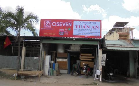Làm Bảng Hiệu Cửa Hàng Sơn Oseven